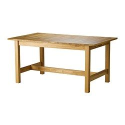 NORDBYN Extendable table, oak - IKEA | Ideas for the House | Pinterest