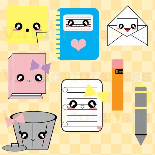 28++ Cute pencil and paper clipart ideas