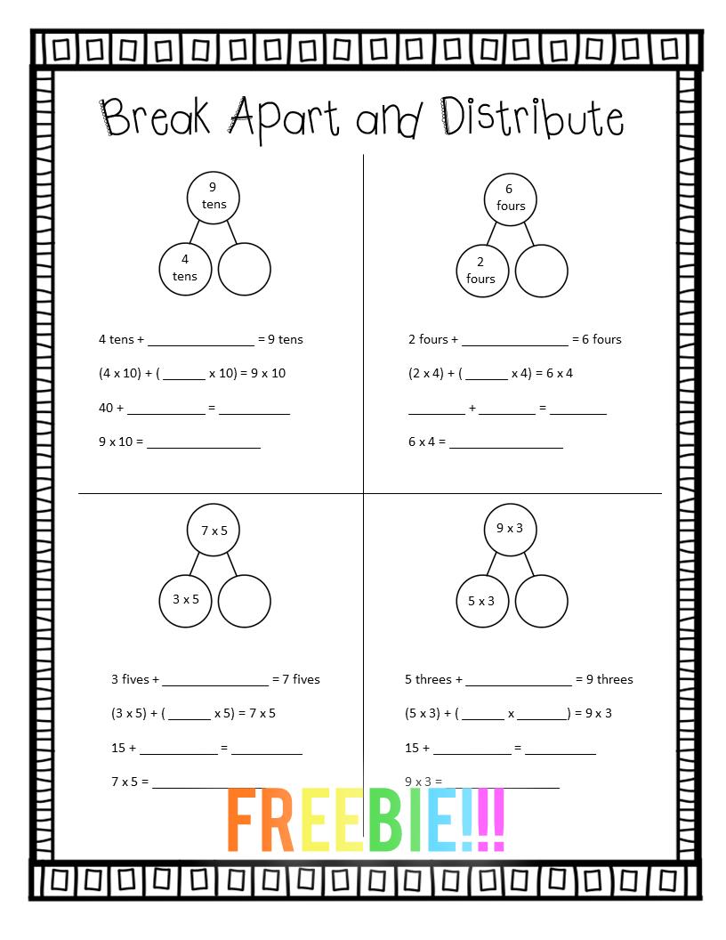 3rd Grade Eureka Math Spiral Review Freebie Math Spiral Review Spiral Math Eureka Math [ 1056 x 816 Pixel ]
