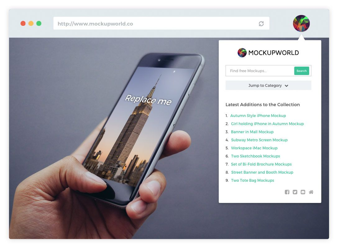 Out Now Mockup World Chrome Extension Mockupworld Chrome Extension Mockup Iphone Mockup