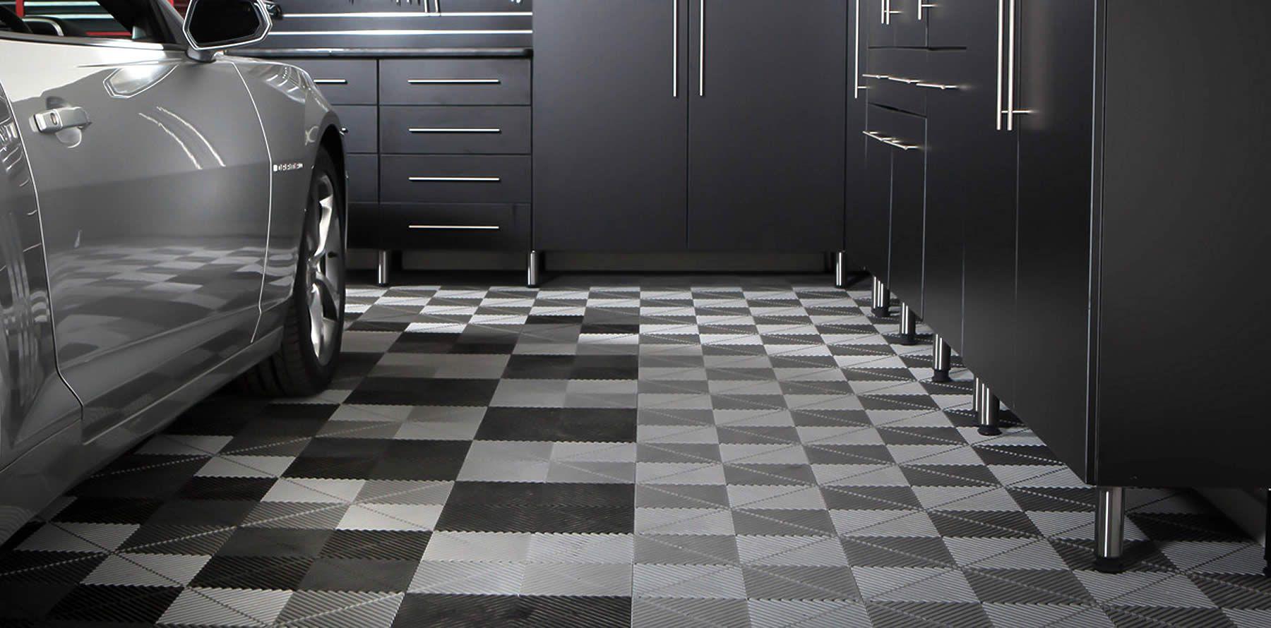 33 Garage Flooring Ideas For Stylish Vehicle Storage Garage