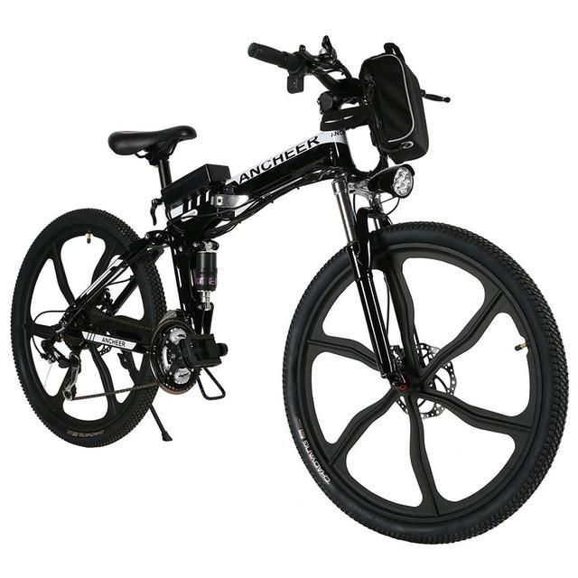 new 26 27speed folding electric disc brake mountain bike with 12V Lithium Ion Pack new 26 27speed folding electric disc brake mountain bike with lithium ion battery