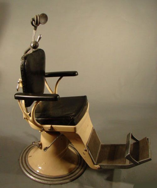 Any one else happy that dentist chairs no longer look like this? - Any One Else Happy That Dentist Chairs No Longer Look Like This