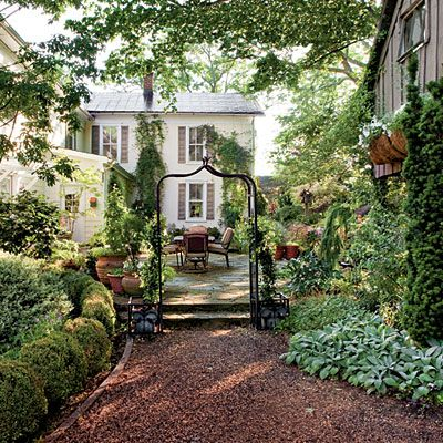 village of The Plains, Virginia - Shady Retreat - Southern Living