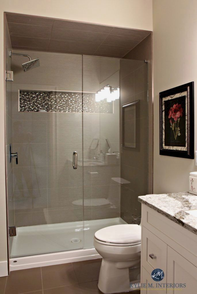 small bathroom remodel ideas on a budget, before and after, shower