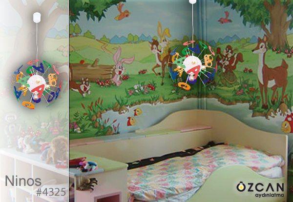 Ninos'la odanızı renklendirin, renklendirirken öğretin.