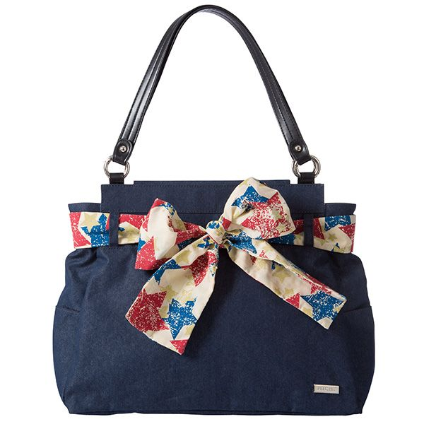 Americana Shell for Prima Bags with included red white and blue Scarf