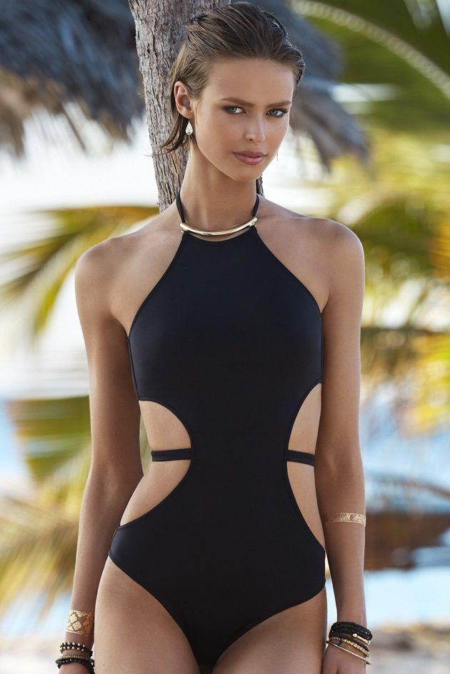 Penti Mayo Ve Bikini Modelleri 2015 Mayolar Siyah Mayo Bikini Modelleri