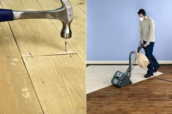 Diy Warrior Refinishing Wood Floors With A Great How To Video I