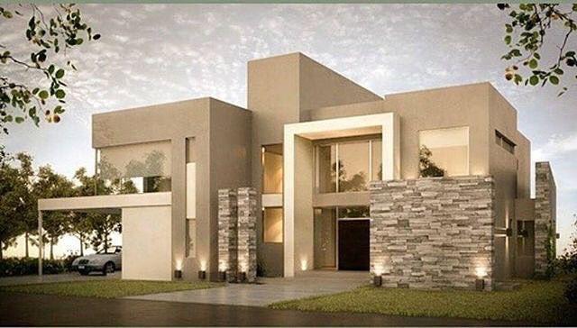 Fachada fachadas pinterest arquitetura projetos for Colores de casas minimalistas