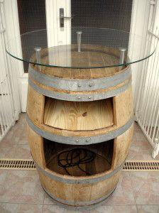 astuce 2 recyclage table basse piano pinterest tonneau tonneau bar et fut de vin