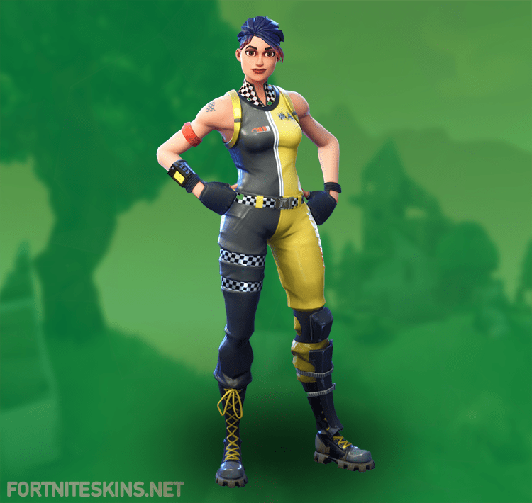 Great Whiplash Outfit In Fortnite Battle Royale.