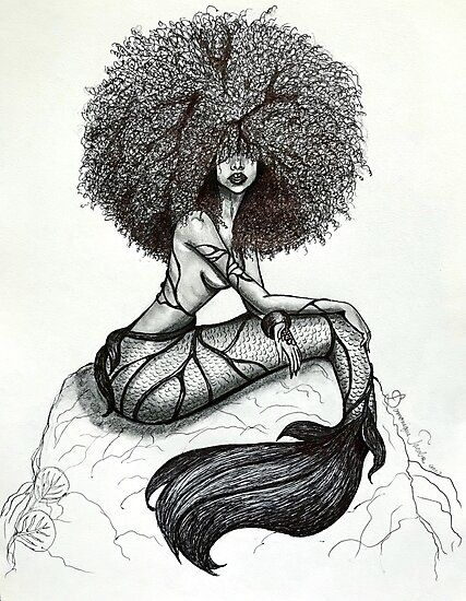 Goddess of the Sea Photographic Print