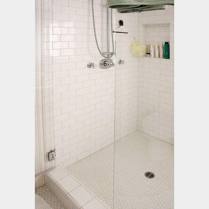 Manhattan White Subway Tile 4x8 White Subway Tile Shower Shower