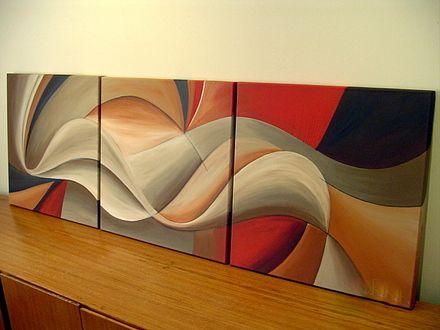 fotos de cuadros abstractos originales todas las medidas