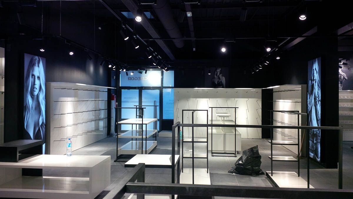 CK (Retail Store) @Troyes (Francia) By AD Store & More #design #store #retail #contract #work #managment #ADSM