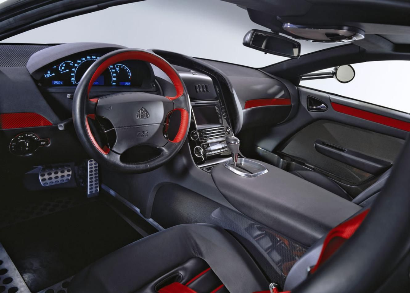 Maybach Exelero Expensive Cars Interior Design Dashboard