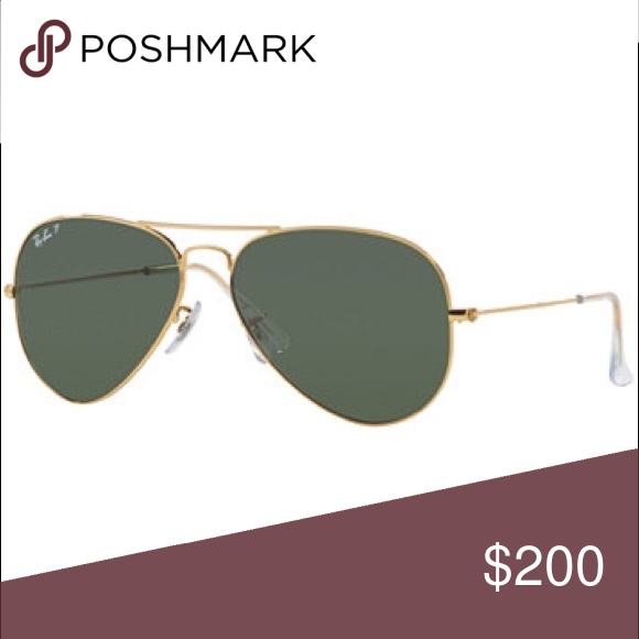 a348a53b82e Authentic Ray Ban Aviators - Gold Currently one of the most iconic sunglass  models in the