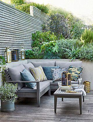 Melrose Corner Sofa M S Outdoor Sofa Design Garden Sofa Outdoor Sofa