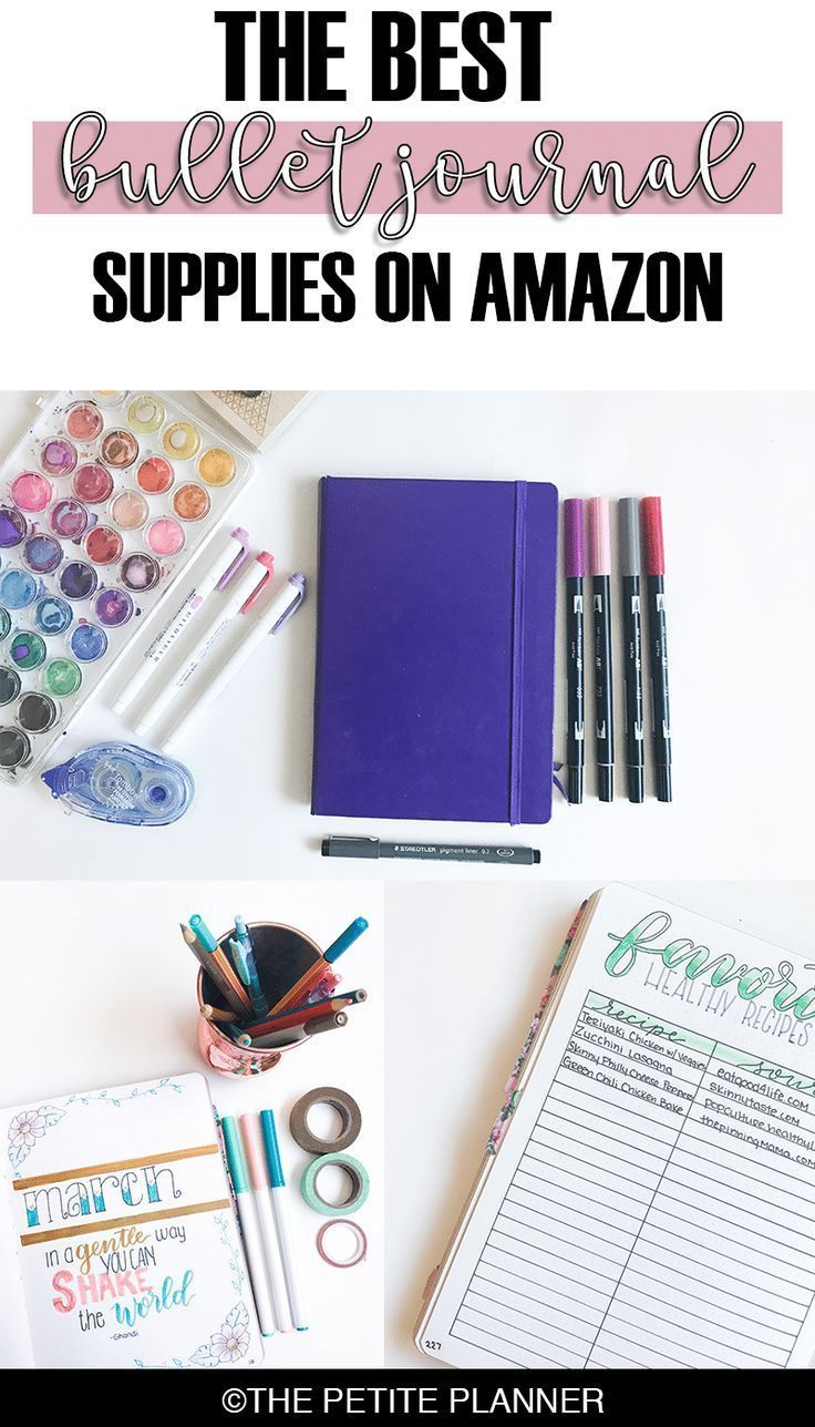 Best Bullet Journal Supplies on Amazon