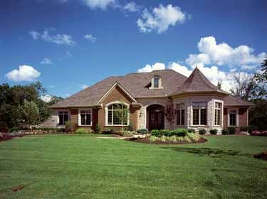 Pretty One Story House I Luv One Story Homes Country Style House Plans French Country House French Country House Plans