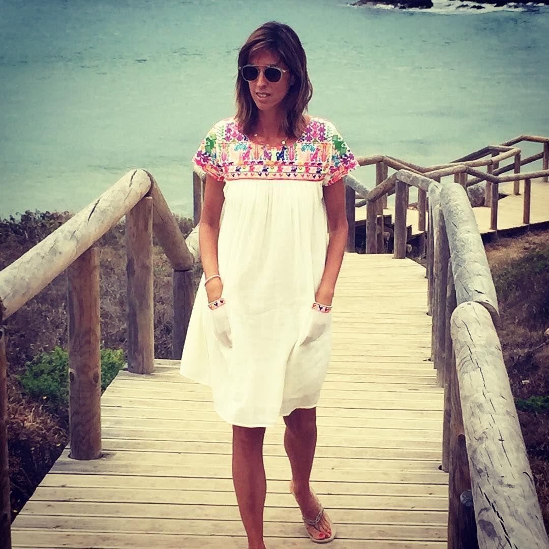 """""""... Fim de dia... Com sabor a fim de férias.  #ferias #praia #solondeandas #christophesauvatgirls"""""""