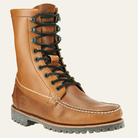 men's timberland authentics 8-inch rugged handsewn boots