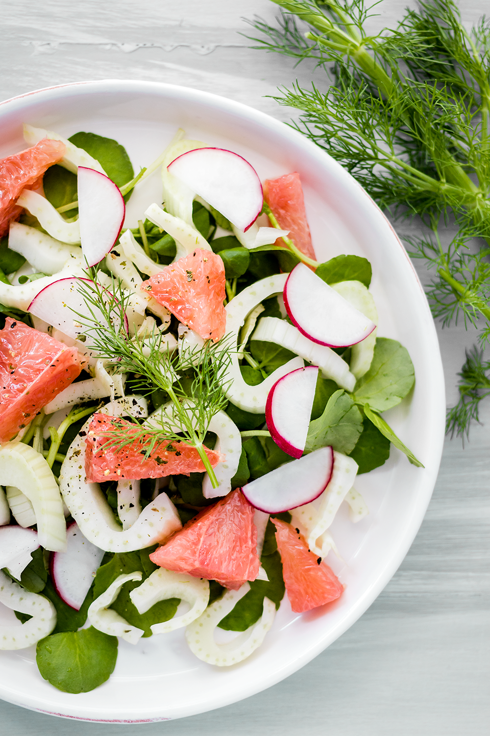 Brighten Your Plate With This Vibrant Fennel And Grapefruit Salad
