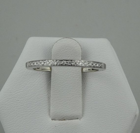 Dazzling Pave Set Diamonds in a 14K White Gold by rubylanejewelers