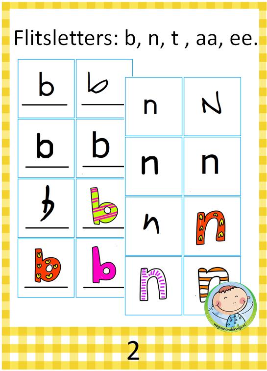 Letters Flitsen