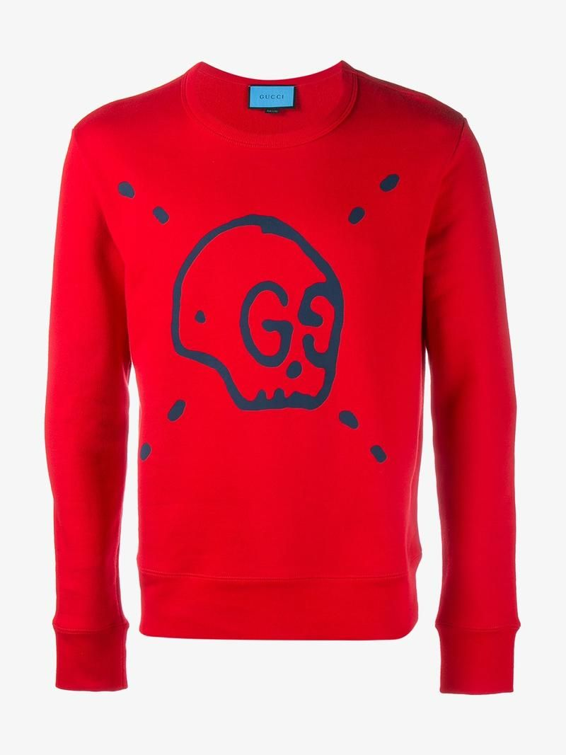 84a96c7d023c GUCCI GUCCI GHOST SWEATSHIRT.  gucci  cloth