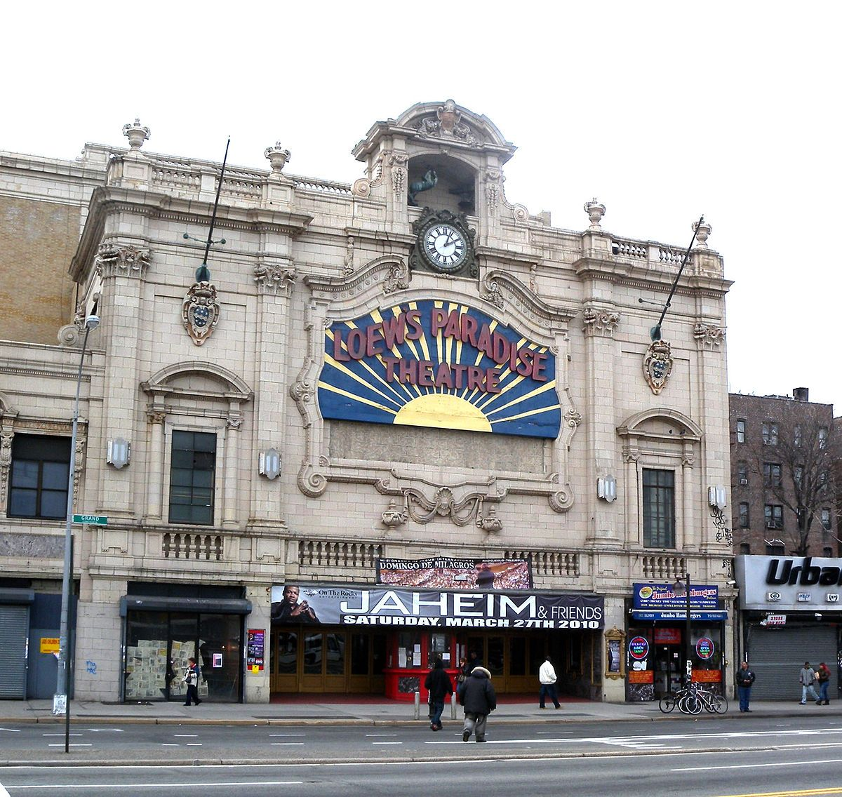 Image result for loews paradise theater bronx theatre