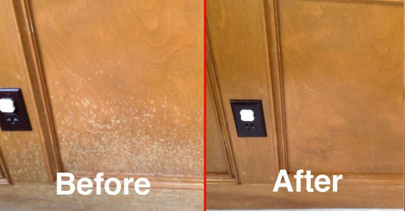 Gives Your Wooden Furniture A Protective Soft Luster Coating Thanks To Carnauba Wax And Beeswax It Also Prevent Clean Kitchen Cabinets Staining Wood Cleaning
