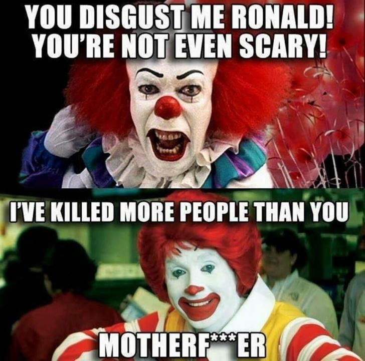 b5927ece201cd15aafa40b50ed3034e5 pennywise needs to step up his game humor, memes humor and meme