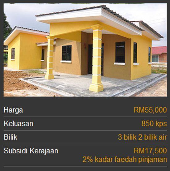 3 Kategori Rumah Mesra Rakyat 1malaysia Spnb Rumah Kaki Bilik