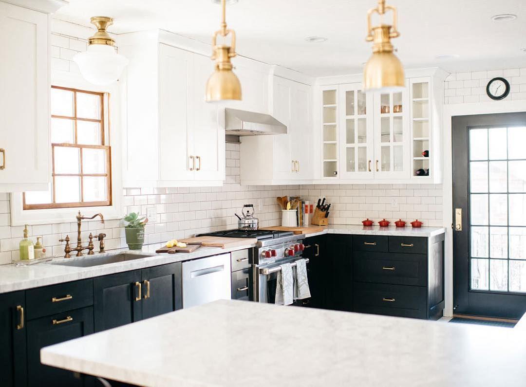 black & white | Kitchen | Pinterest | Kitchens, Interiors and ...