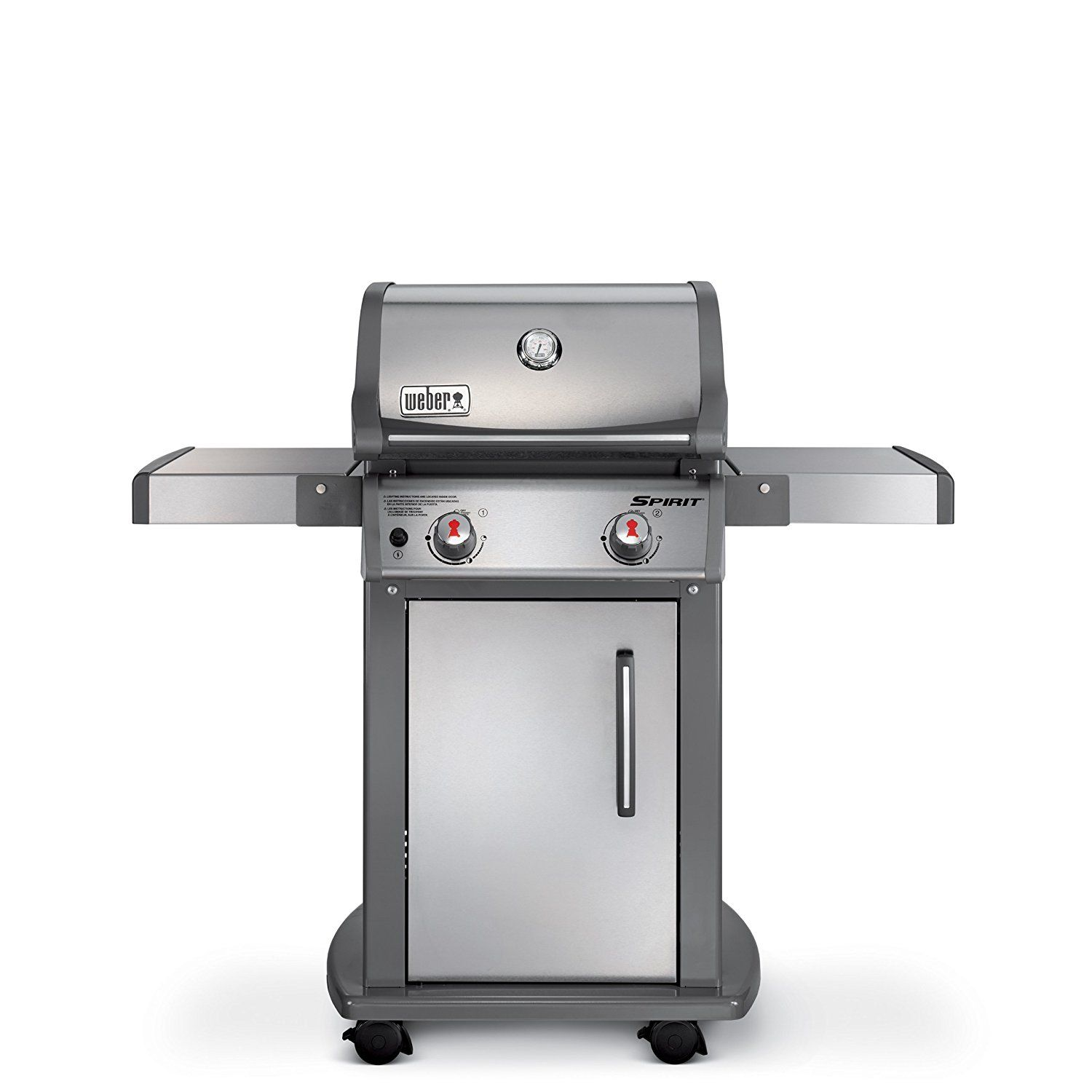 Weber 47100001 Spirit S210 Natural Gas Grill Stainless Steel Natural Gas Grill Gas Grill Propane Gas Grill