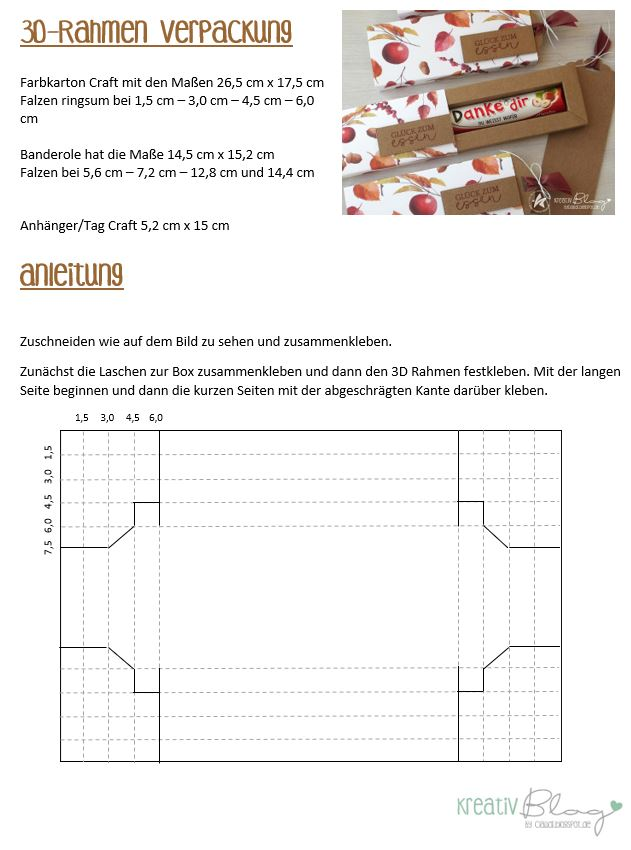 Kreativ Blog by Claudi: Glück zum Essen #origamianleitungen