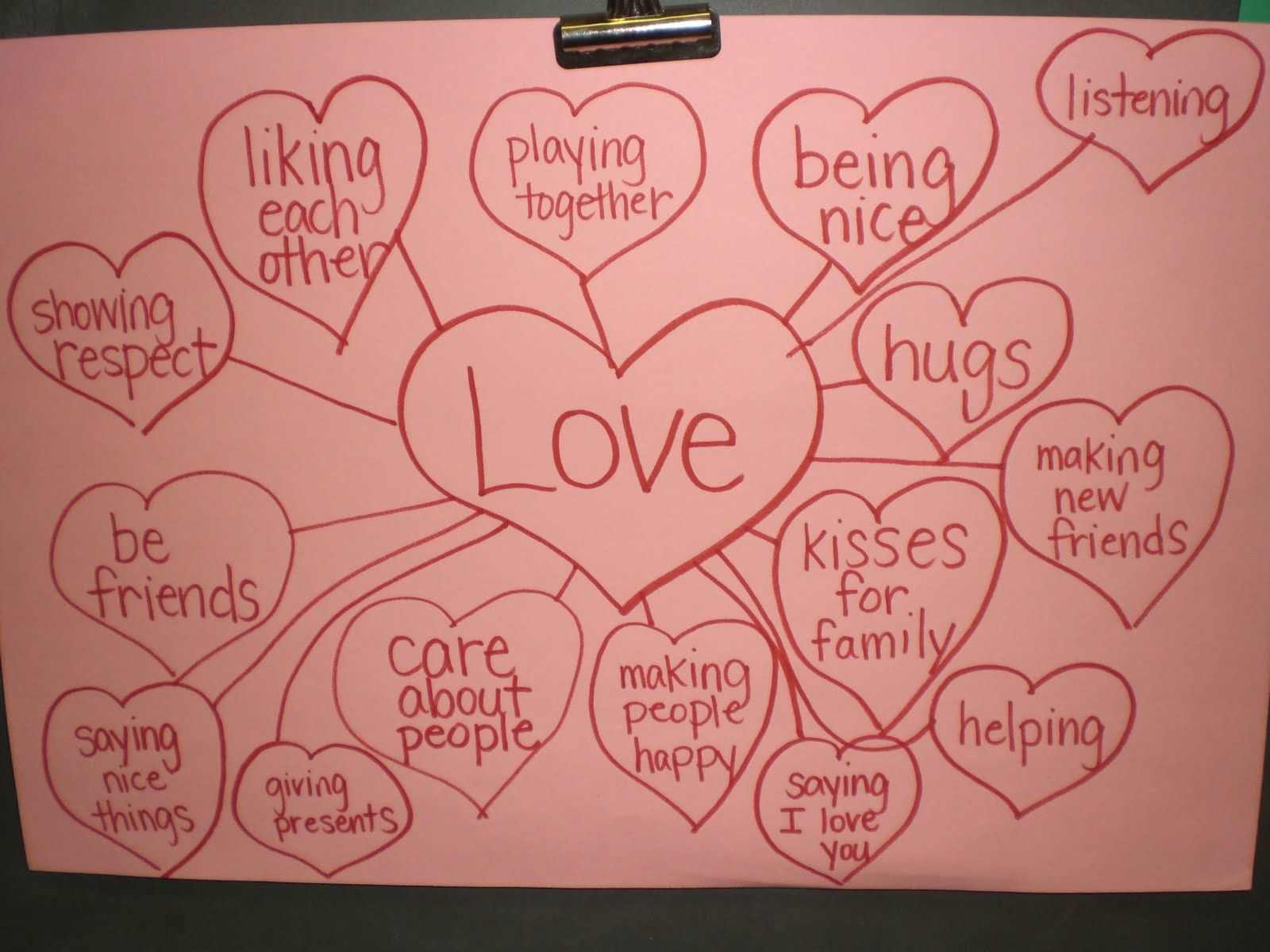 Love Word Web