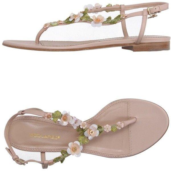 FOOTWEAR - Toe post sandals Dsquared2 PxL0pGlD
