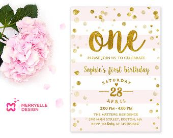 girl birthday invitation template