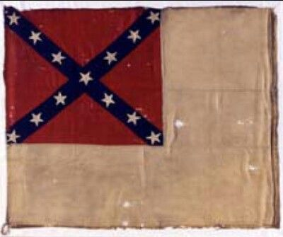 Flag Of The 9th Arkansas Museum Of The Confederacy The Battle Flag Of The 9th Arkansas Infantry Currently Resides Civil War Flags Civil War Photos Civil War
