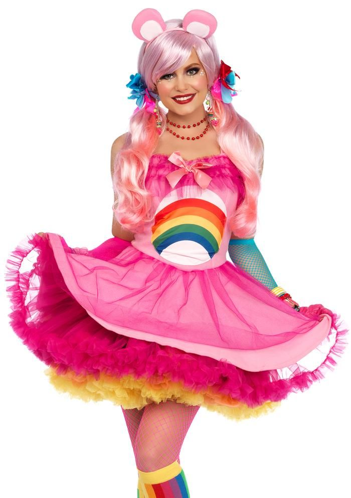 Original wählen Räumungspreise schnüren in Cheer Bear Care Bear Costume by Leg Avenue | kostüme ...