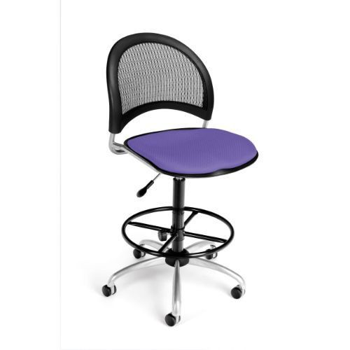 OFM Moon Swivel Chair with Drafting Kit