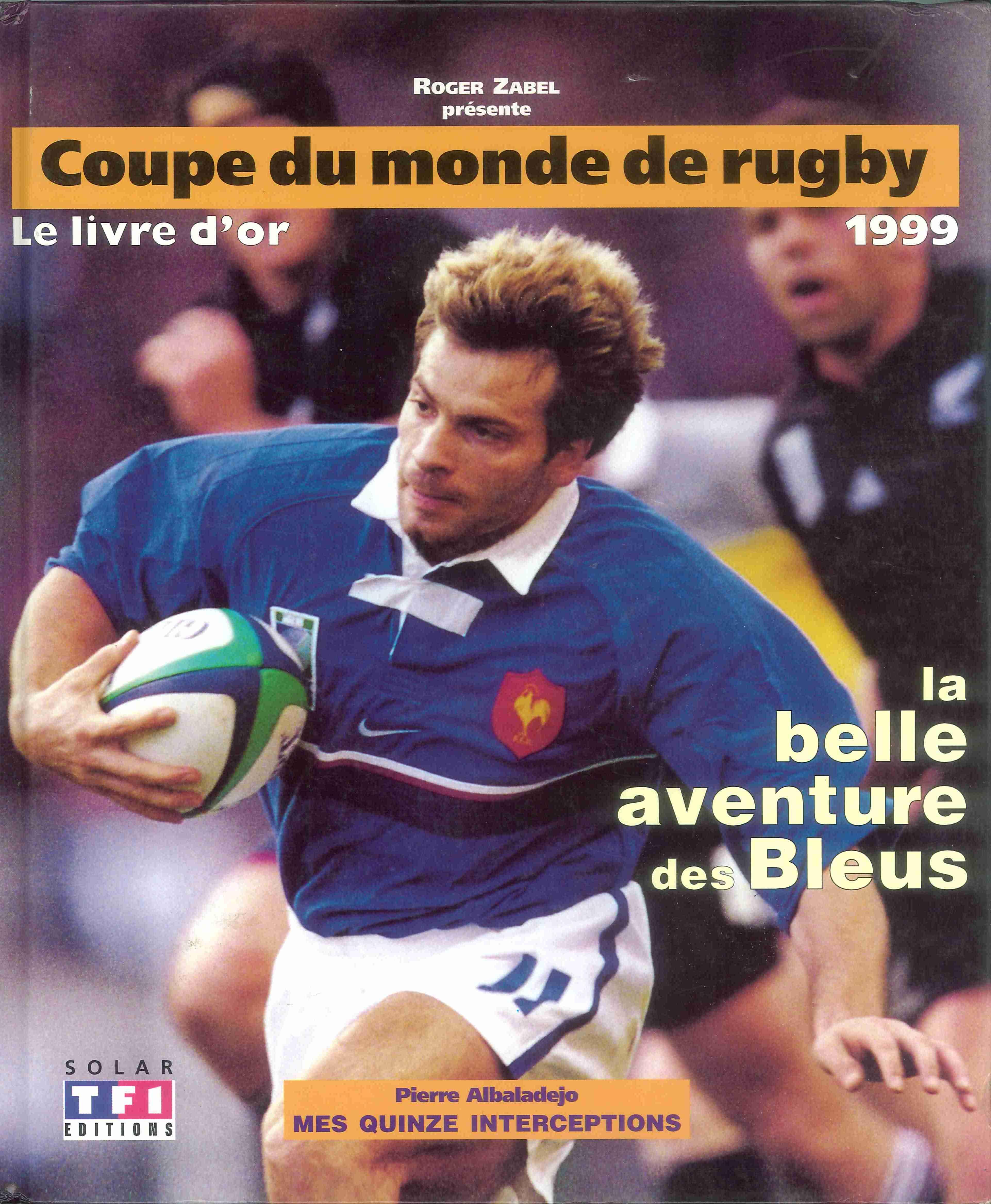 Coupe Du Monde Rugby 1999 : coupe, monde, rugby, Épinglé, Livre, Rugby
