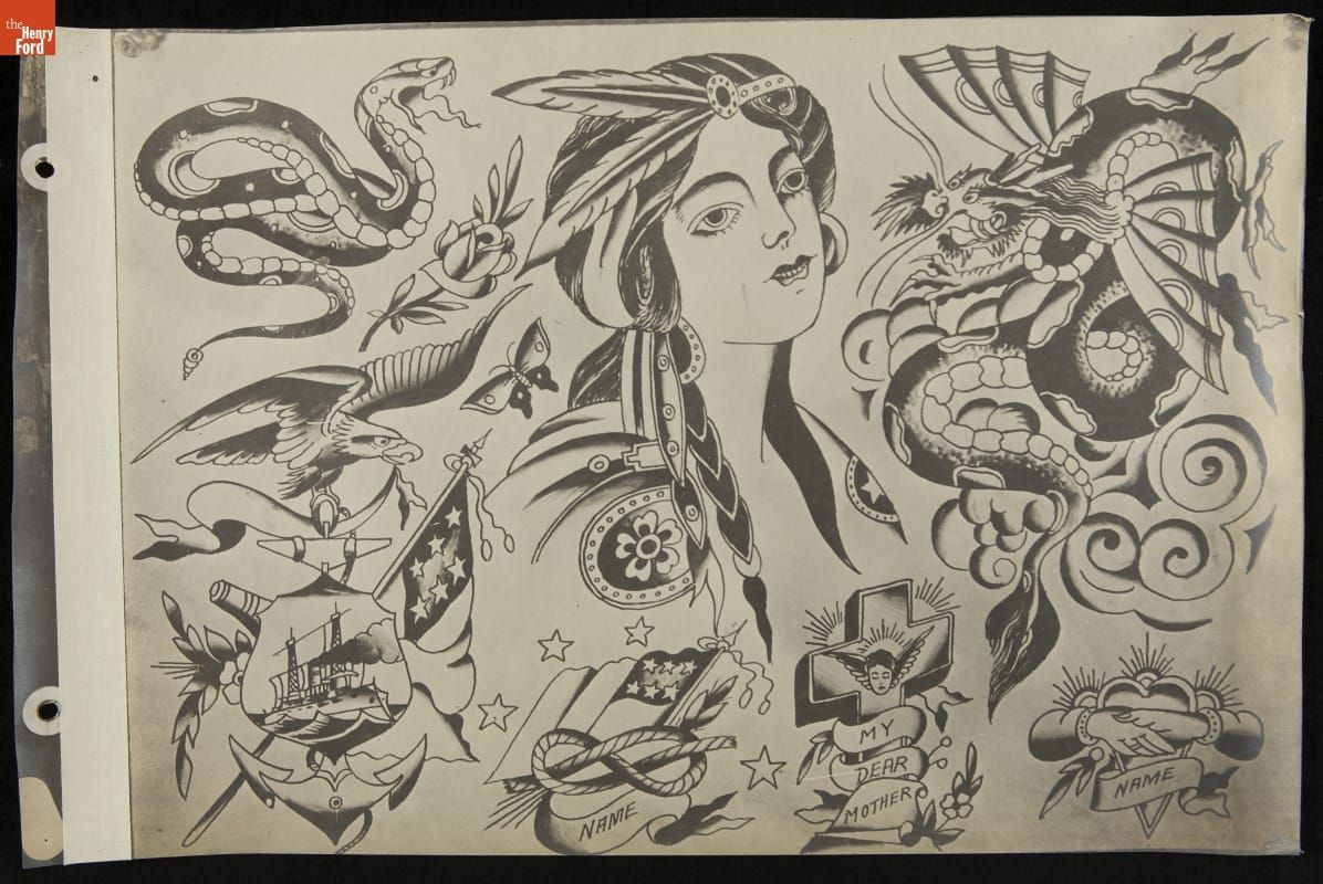 Pin By Billy On Percy Waters In 2020 Traditional Tattoo Flash Vintage Tattoo Traditional Tattoo