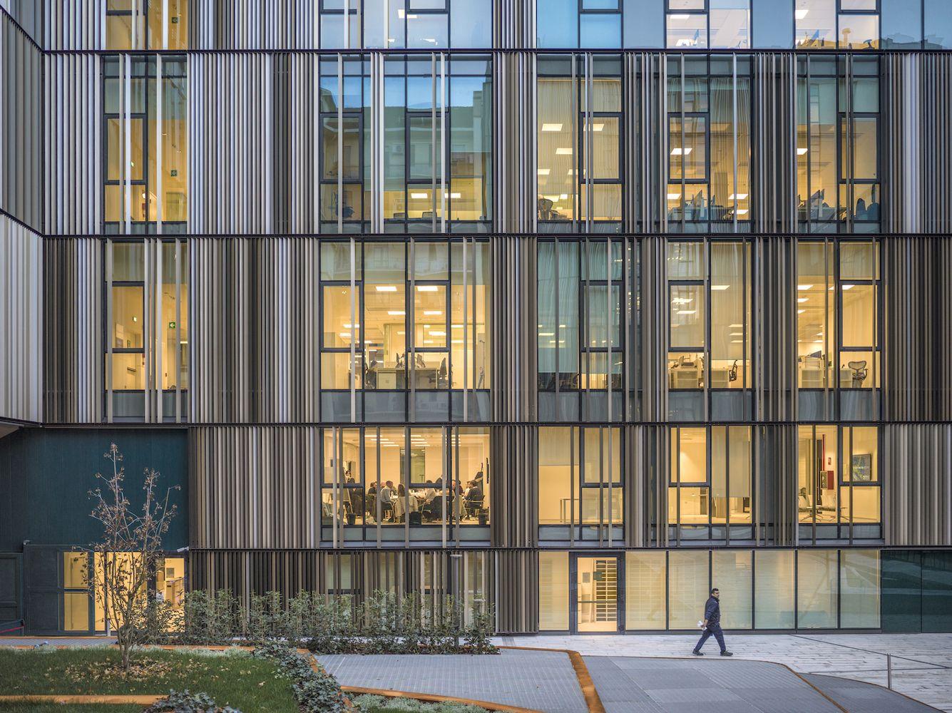 office facades. Gallery Of Reale Group Office Building / Iotti + Pavarani Architetti Artecna - 13 Facades T