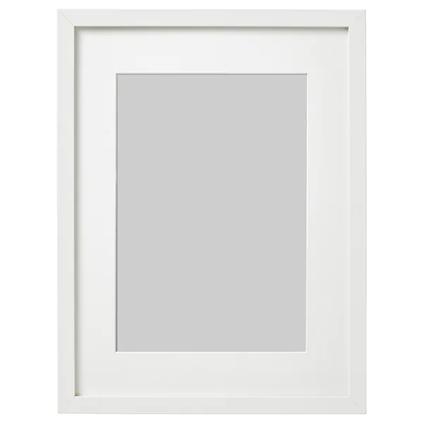 Ribba Frame White 12x16 Ikea In 2020 Ribba Frame Frames On Wall Frame