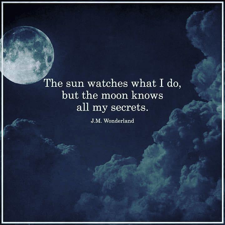 Nights Moonlight Quotes Dark Words Moon Quotes