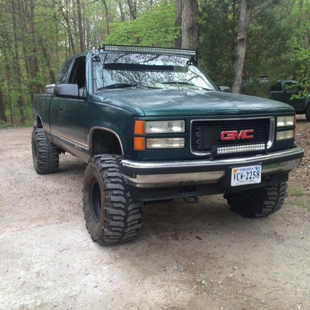 95 Gmc K1500 3 Leveling Kit 3 Body Lift 35 Boggers Chevrolet Trucks Chevy Trucks Gmc